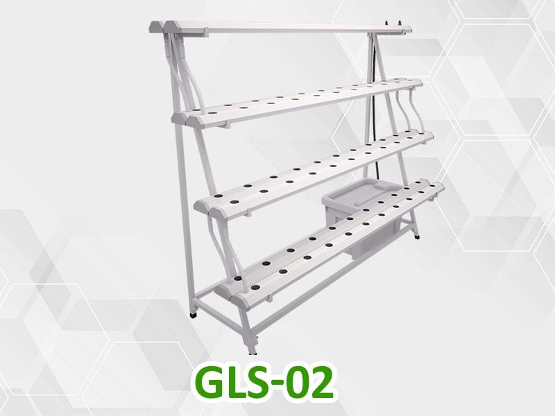 Giàn trồng rau thủy canh bán chữ A GLS-02