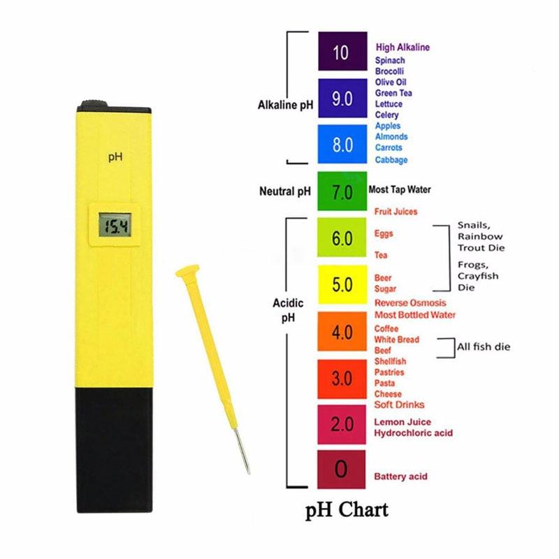 Thước đo độ pH trong dung dịch thủy canh là gì?
