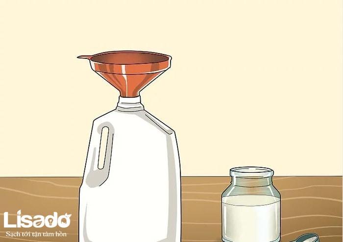 Pha trộn các chất dinh dưỡng thủy canh