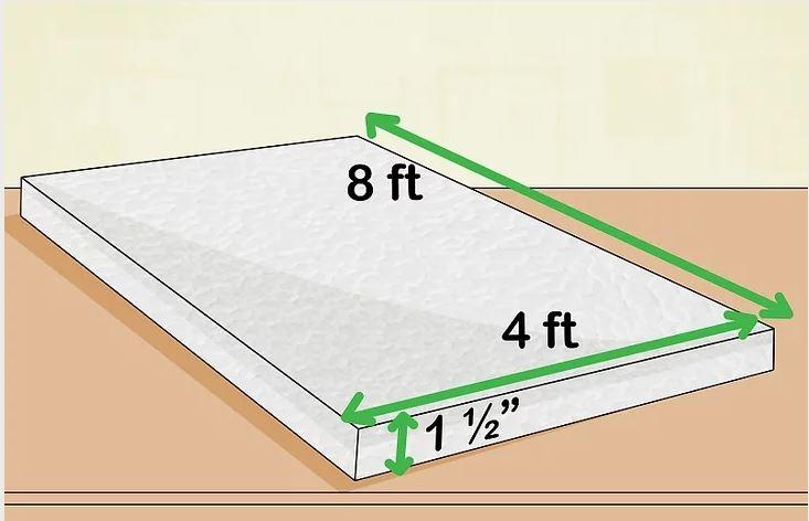 Thiết kế một tấm phao nổi bằng xốp