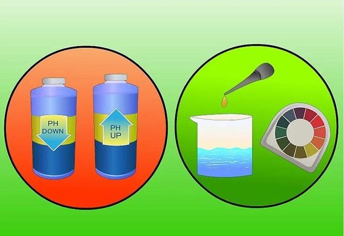 Điều chỉnh nồng độ pH trong dung dịch dinh dưỡng