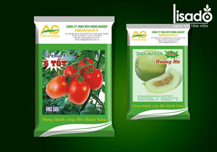 Khi chọn hạt giống rau cần chú ý đến bao bì sản phẩm
