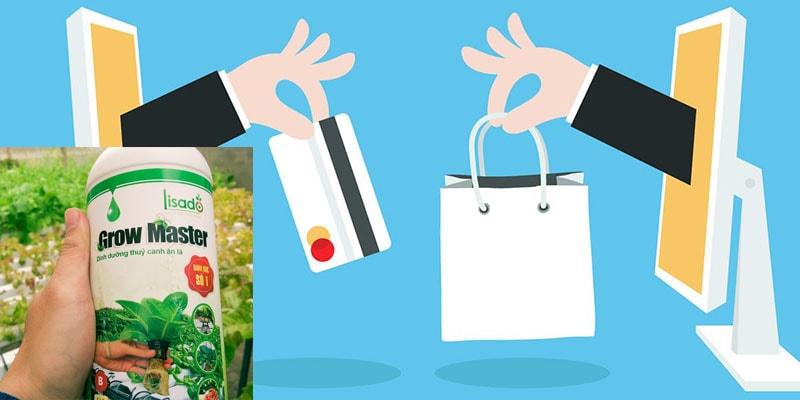Có nên mua dung dịch thủy canh trên các trang thương mại điện tử?