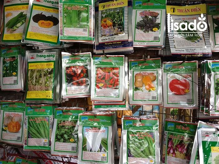 Hạt giống rau nội địa có nhiều ưu điểm