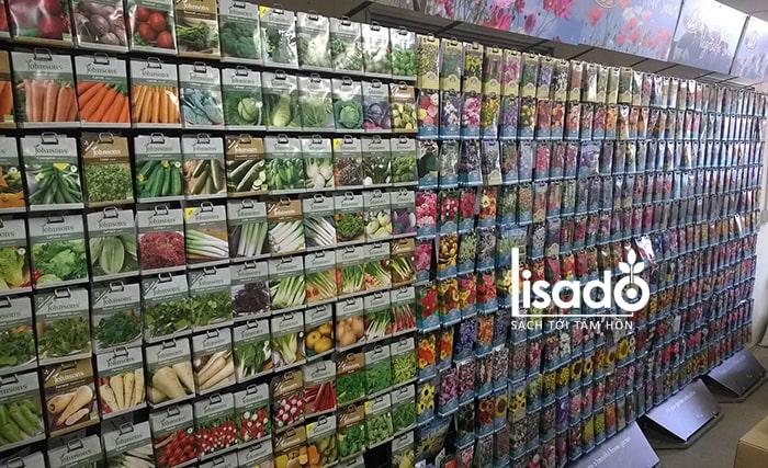 Mở cửa hàng kinh doanh hạt giống