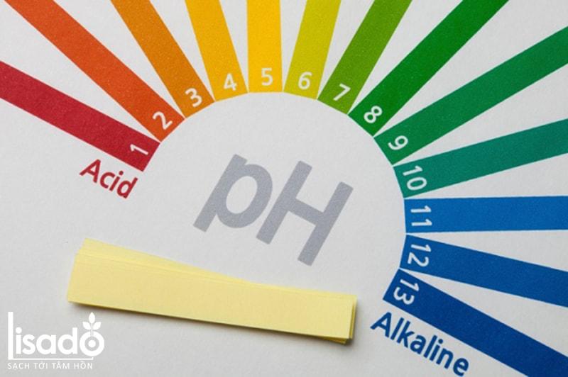 Về nồng độ pH trong dung dịch thủy canh