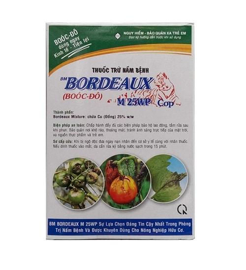 Sử dụng hỗn hợp Bordeaux diệt nấm hữu cơ