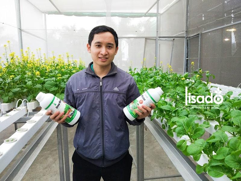 Chính sách đảm bảo, hỗ trợ và tư vấn khi mua dung dịch Grow Master