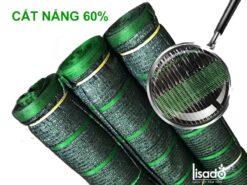 Lưới cắt nắng Thái Lan 60% khổ 2x50m