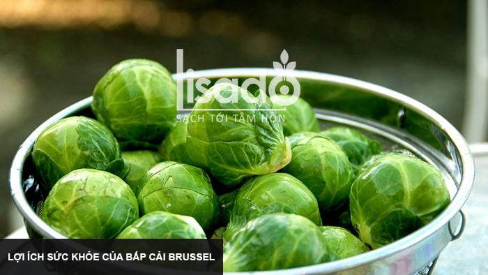 Lợi ích sức khỏe của bắp cải Brussel