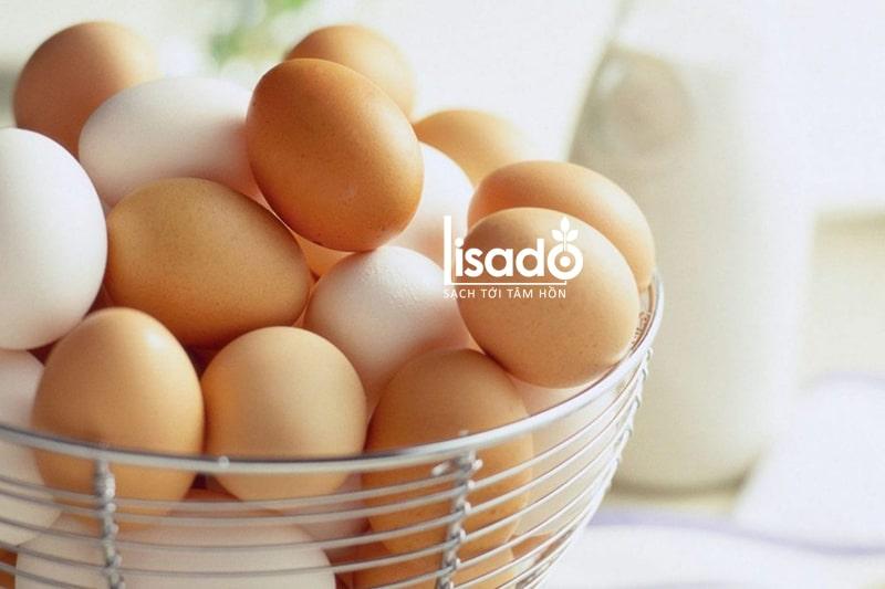 Trứng gà là loại thực phẩm rất giàu protein