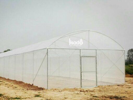 Nhà kính mái cong (mái vòm) NK-01   LISADO VIỆT NAM