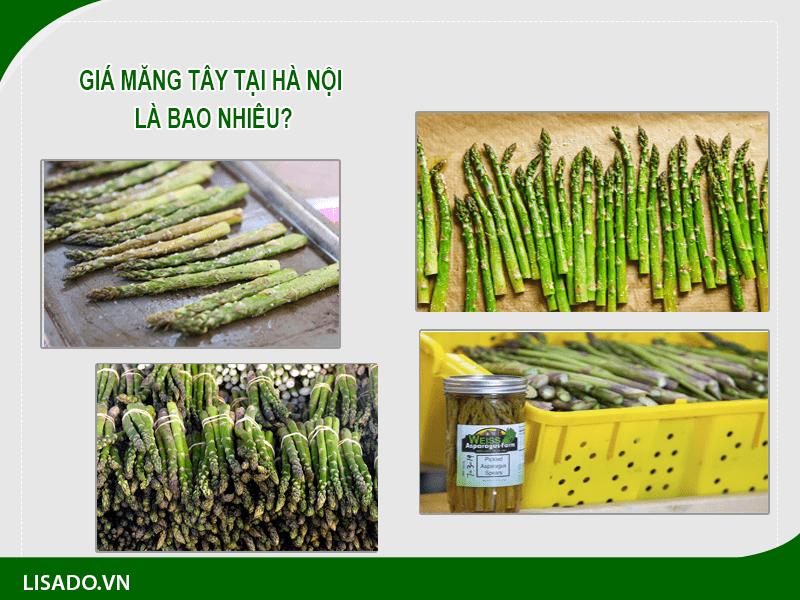 Giá măng tây tại Hà Nội là bao nhiêu?