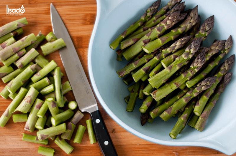 Cách làm món măng tây ngâm dấm