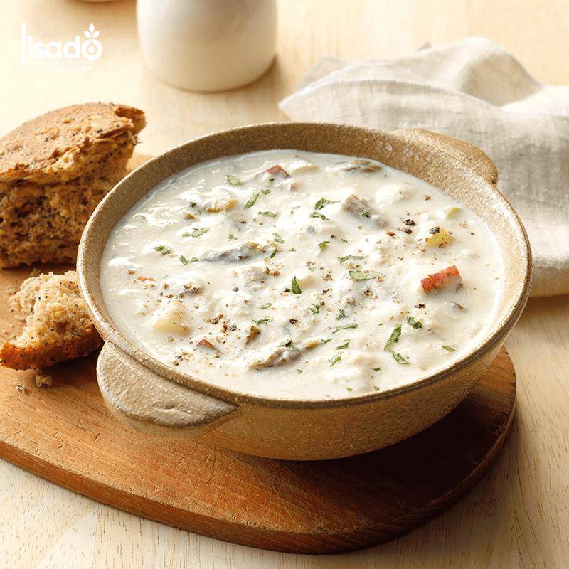 Cách nấu súp cua măng tây