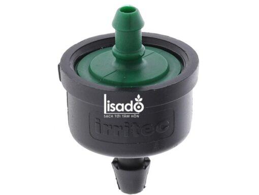 Đầu tưới nhỏ giọt bù áp 4 l/h, đầu ngạnh - Irritec (Ý) nhập khẩu, giá tốt