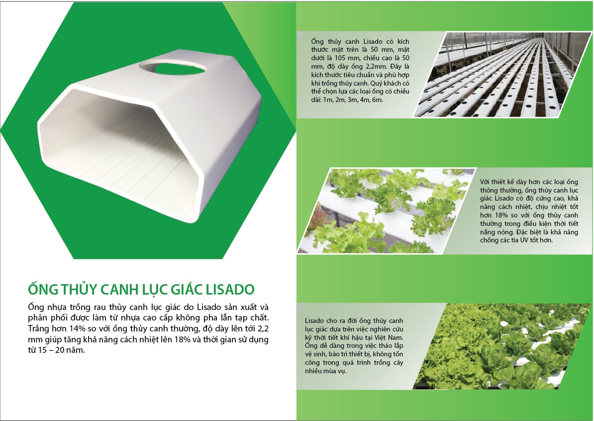 Ống thủy canh cao cấp Hydroponics
