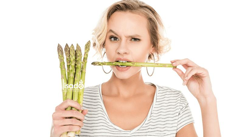 Măng tây giàu folate và vitamin B12- 2 loại vitamin giúp nâng cao tinh thần