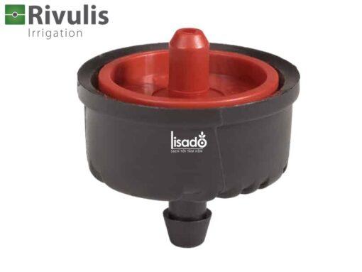 Đầu tưới nhỏ giọt bù áp lưu lượng 12 lít/h Supertif - Rivulis (Israel)