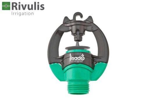 Béc tưới phun mưa S2000 có bù áp - Rivulis (Israel) màu xanh lá