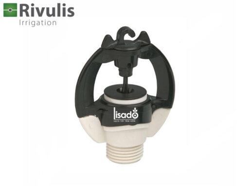 Béc tưới phun mưa S2000 có bù áp - Rivulis (Israel) màu trắng