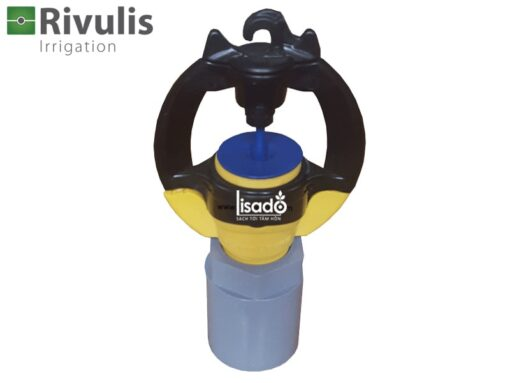Béc tưới phun mưa S2000 + khớp nối ống 21mm có bù áp - Rivulis (Israel)