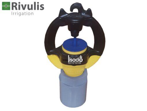 Béc tưới phun mưa Rivulis S2000 + khớp nối ống 21mm không bù áp - Rivulis (Israel)