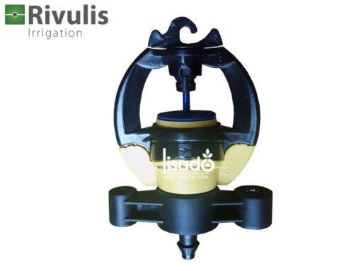 Béc tưới phun mưa S2000 + khớp nối 6mm có bù áp Rivulis (Israel)