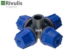 Đầu tưới phun sương FLF 4 cửa 10.5l/h xanh biển - Rivulis (Israel)