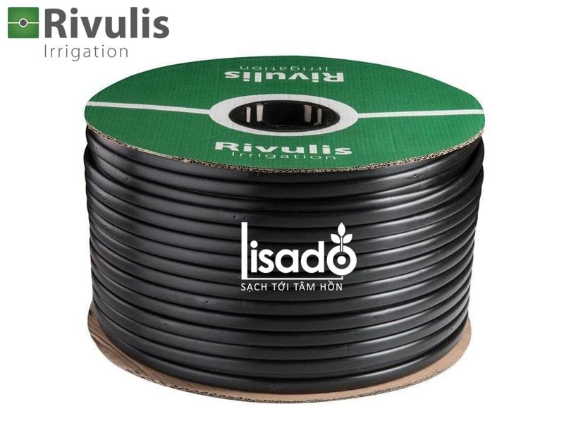 Ống tưới nhỏ giọt bù áp D5000 Ø16 dày 0.9mm, khoảng cách 50cm – Rivulis (Israel)