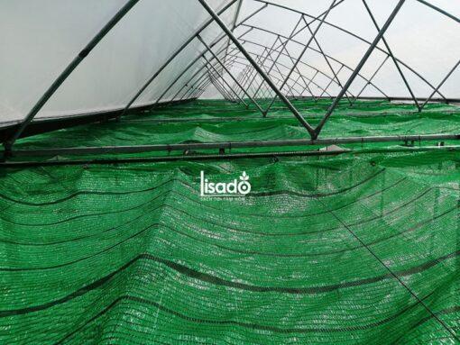 Dây cáp sợi cước căng màng, đỡ lưới che nắng