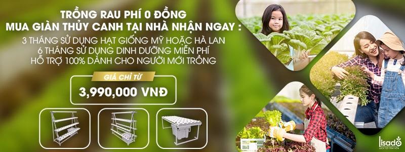 Ưu đãi dành cho khách hàng khi mua giàn trồng rau thủy canh