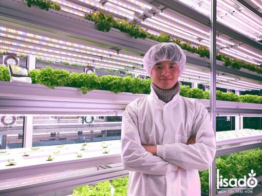 Đèn LED trồng cây, trồng rau, nuôi cấy mô 1.2m D NCM02L 60/10W (Rạng Đông)